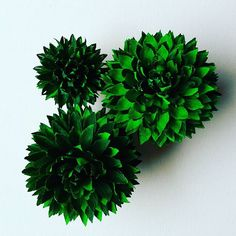 #paper #flowers #decoration #crepepaper  #centerpieces #handmade #green