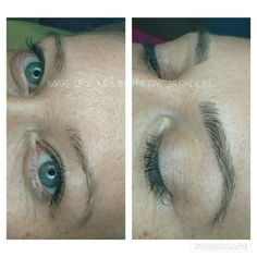 Microblading naturalne look for brows