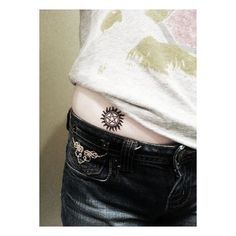 Supernatural Pentagram Temporary Tattoo Winchester ❤ liked on Polyvore featuring accessories, body art and tattoos