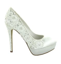 Zapato de novia de Menbur (ref. 6234) Bridal shoes by Menbur (ref. 6234)