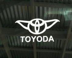 Check out this item in my Etsy shop https://www.etsy.com/listing/502920833/toyota-yoda-star-wars-truck-pickup-camry