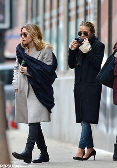 Mary Kate And Ashley Olsen Twins Mary Kate Olsen, Mary Kate Ashley, Elizabeth Olsen, Ashley Olsen Style, Olsen Twins Style, Fashion Moda, Look Fashion, Fashion Trends, Fall Fashion