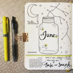 June Cover Page : bulletjournal