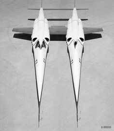 Twin-stiletto
