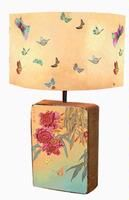 So pretty. Anna Chandler Design Yellow Butterflies Shade with Matching Base Chic Furniture, Modern Furniture, Lamp Shade, Lamp, Butterfly Lamp, Modern, Homeware, Home Signs, Beautiful Bedding