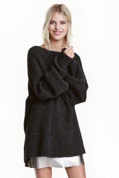 Oversized mohair-blend jumper | H&M