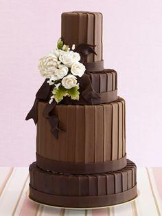The Chocolate Lover's Wedding Cake