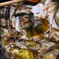 Olajos hal házilag Pork, Beef, Pork Roulade, Meat, Pigs, Ox, Pork Chops, Ground Beef, Steak
