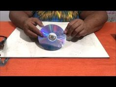 Cd Crafts, Handmade Crafts, Diy And Crafts, Make It Yourself, How To Make, Gd, Youtube, Flower Petals, Pop Tabs