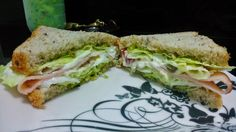 #MaridoTemQueAcharUmaDelicia: Sanduíche de Peito de Peru com Patê de Queijo e Mo...