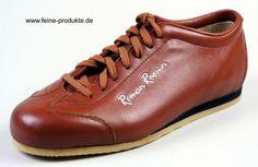 Roman Roosen Schuhe Sneaker handgefertigt aus Leder cognac   € 146,90  www.sportmarkenschuhe,de