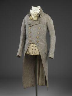 omgthatdress:  Frock Coat  1790  The Victoria  Albert Museum