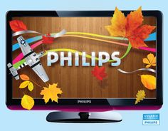 TV LED 3D Philips.