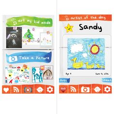 4 Awesome Apps For Preserving Your Kids' Artwork