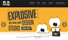 Tap-Tap Design | Website Showcase | The Design Inspiration