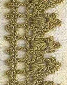 """Modello Crochet: """"pizzo"""" - maomao - I corone"""