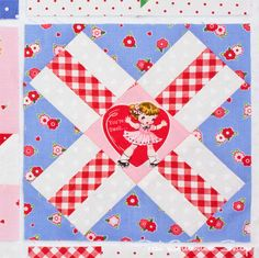 Back to School with Pam Kitty: Row 2 - Fat Quarter Shop's Jolly JabberCrossing p.76.
