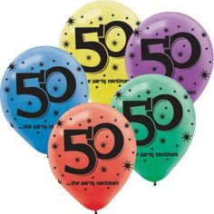Shop for The Party Continues 50th Birthday 12