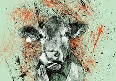 Kráva Cow kresba tužkou pencil drawing pohyblivý animovaný obrázek gif animace Animated Scribble zdarma stažení Lots Of Money, Scribble, Pencil Drawings, Cow, Moose Art, Animation, Make It Yourself, Girls, Painting