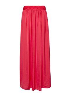 Pleated maxi-skirt by MANGO