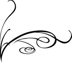 swirly vine tattoos | Decorative Swirl clip art - vector clip art online, royalty free ...