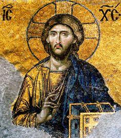 Jesus-Christ-from-Hagia-Sophia - イコン - Wikipedia