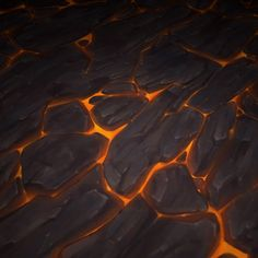 ArtStation - Lava textures - Bitgem, Antonio Neves