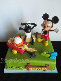Doces Opções: A ovelha Choné e o Mickey foram ao 2º aniversário ...