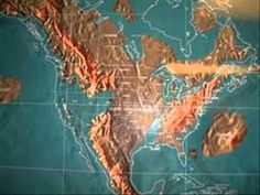 Map of the future united sates according to edgar cayce predictions future map of the united states and world youtube publicscrutiny Images
