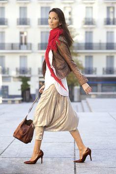 http://www.eldetalledefine.com/2013/11/great-style-naira.html Baggy pants #Vinegar #fashion #streetstyle #samedelman #Asos #madridstreetstyle