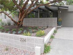 Mid Century Front Yard  Front Yard Landscaping  Huettl Landscape Architecture  Walnut Creek, CA