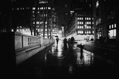 New York City - Rain and Wet Sidewalks