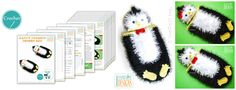 Penguin Hat and Cocoon Baby Set Photo Prop Crochet Pattern by IraRott