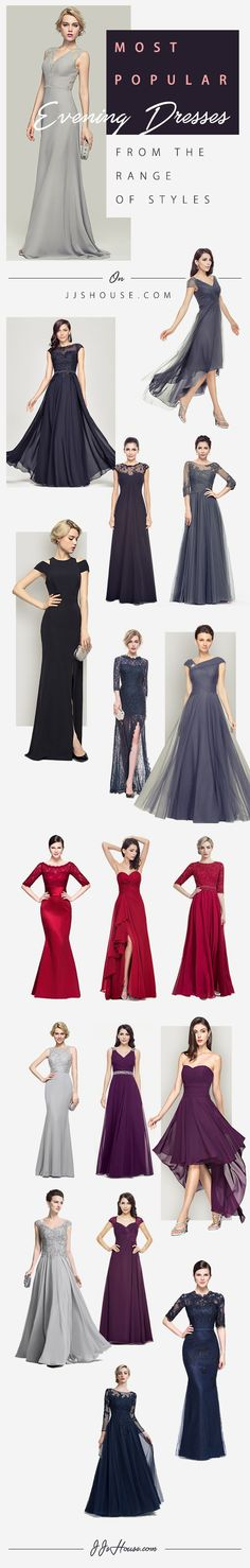 MOST POPULAR Evening Dresses From the Range of Styles on JJSHOUSE.COM #Eveningdresses