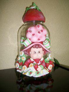 potes decorados Decorated Jars, Snow Globes, Christmas Ornaments, Holiday Decor, Home Decor, Decorating Jars, Mason Jars, Decoration Home, Room Decor