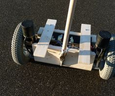 """This Instructable is intended to share my hobbyist project: a Self-Balancing Personal Transportation (SBPT), also known as """"Homemade Segway"""". It is an i..."""