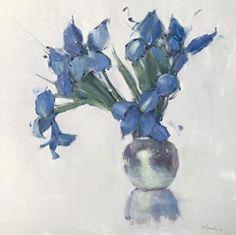 Wild Thing by Nancy Franke, Oil, 40 x 40