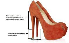 Туфли на 7 сантиметровом каблуке
