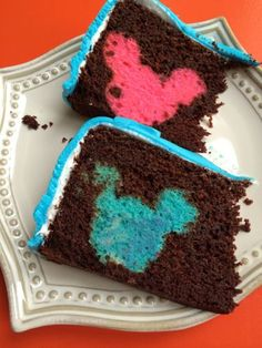 Rainbow Hidden Mickey Cake, can someone PLEASE make this for me!!!!