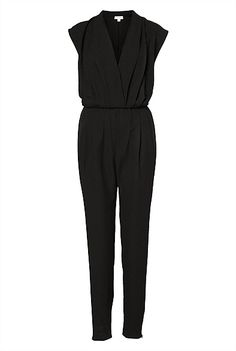 Drape Front Jumpsuit - work, cocktails even wedding.. I WANT. #witcherywishlist
