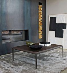 B&B Italia   MICHEL Small Table   By Antonio Citterio