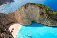 Lord KNOWS I'd swim in this ALL DAY! [Europe's secret summer hot spots. Greece]