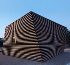 Parking Attendants Pavilion by Jean-Luc Fugier