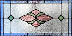 """horizontal stained glass patterns   ... """" STAINED AND LEADED GLASS TRANSOM WINDOW CUSTOM AT GLASS BY DESIGN"""