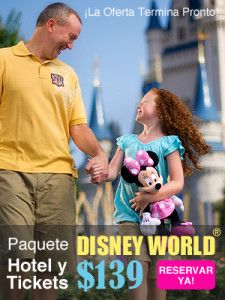 Hotel y parques Disney World