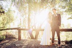An elegant boho-chic elopement by Timepiece Studio + Gold Coast Goods - Wedding Party