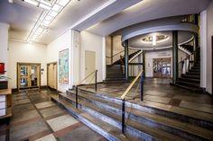 Slik blir Sommerro-hotellet i gamle Oslo Lysverker Oslo, Villa, Stairs, Mansions, House Styles, Arts, Home Decor, Modern, Stairway