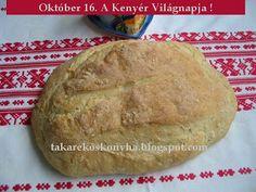 Takarékos konyha: Krumplis kenyér Bread, Food, October, Brot, Essen, Baking, Meals, Breads, Buns
