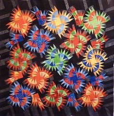 Tumbleweeds, Quiltworx.com, Made by Susan Montoyoa.
