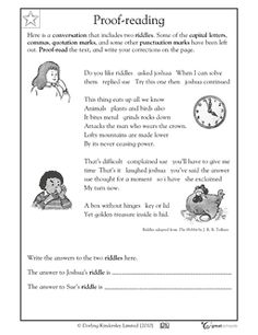 Printables Free Proofreading Worksheets our 5 favorite prek math worksheets writing and proofreading activities greatschools